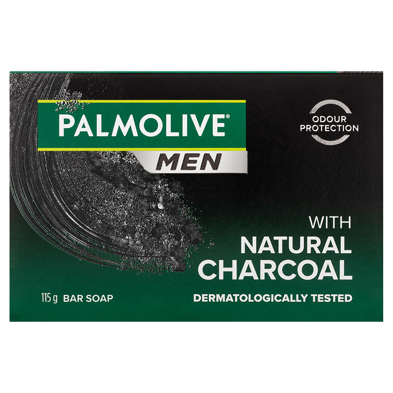 Odour Eliminating Bar Soap with Natural Charcoal