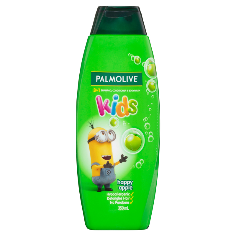 Minions Happy Apple 3-in-1 Shampoo, Conditioner & Body Wash